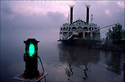 The American Queen paddle steamer