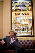 Jonathan Neame, Cheif Executive, Shepherd Neame, Faversham, 12th November 2013.