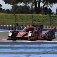 #13, Rebellion R-One AER, Rebellion Racing, driven by Dominik Kraihamer, Matheo Tuscher, Alexandre Imperatori, FIA WEC Prologue Circuit Paul Ricard, 26/03/2016,