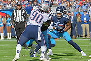 NASHVILLE, TN - NOVEMBER 11:Derrick Henry during a game between the Tennessee Titans and New England Patriots at Nissan Stadium in Nashville, TENN   USA; Mandatory Credit: Mickey Bernal Williamson Herald