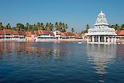 The tank/resorvoir of Thanumalayan Temple?, Suchindram, Kanyakumari, Tamil Nadu