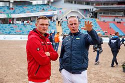 Tebbel, Rene (UKR);<br /> Tebbel, Maurice (GER) <br /> Göteborg - European Championships 2017<br /> © www.sportfotos-lafrentz.de/Stefan Lafrentz