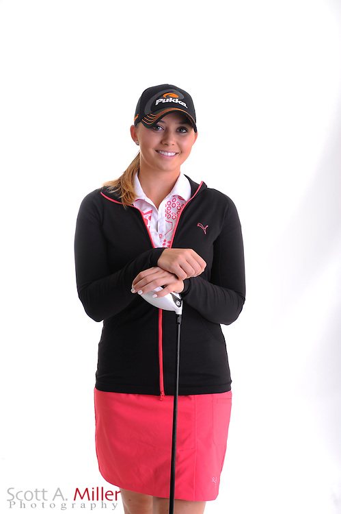 Victoria Elizabeth during a portrait shoot prior to the Symetra Tour's Florida's Natural Charity Classic at the Lake Region Yacht and Country Club on March 20, 2012 in Winter Haven, Fla. ..©2012 Scott A. Miller.
