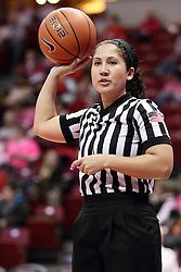 05 February 2016:  Alycia Dukes. Illinois State University Women's Redbird Basketball team hosted the Sycamores of Indiana State for a Play4 Kay game at Redbird Arena in Normal Illinois.