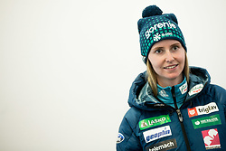 Katja Pozun during press conference of Slovenian Nordic Ski team before new season 2017/18, on November 14, 2017 in Gorenje, Ljubljana - Crnuce, Slovenia. Photo by Vid Ponikvar / Sportida
