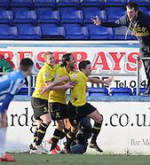 Hartlepool United v Burton Albion 070315