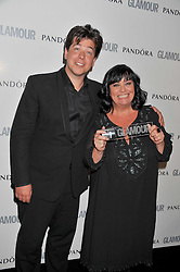 MICHAEL McINTYRE and DAWN FRENCH at the Glamour Women of The Year Awards 2011 held in Berkeley Square, London W1 on 7th June 2011.