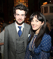 Jack Whitehall and Jessica Brown Findlay