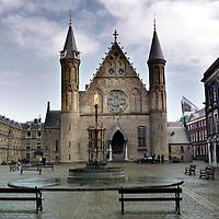 Nederland. Den Haag. 5 februari 2003..Het Binnenhof.