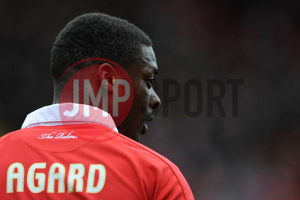 Bristol City's Kieran Agard - Photo mandatory by-line: Dougie Allward/JMP - Mobile: 07966 386802 - 28/02/2015 - SPORT - football - Bristol - Ashton Gate - Bristol City v Rochdale AFC - Sky Bet League One