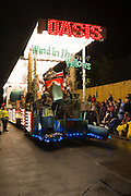 Wind in the Willows by Oasis Carnival Club at Bridgwater Carnival, 2009. Sixth in the Tableau Cart Open Class.