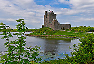 Dunguaire Castle is a 16th-century tower house on the southeastern shore of Galway Bay in County Galway, Ireland, near Kinvara. The name derives from the Dun of King Guaire, the legendary king of Connacht.
