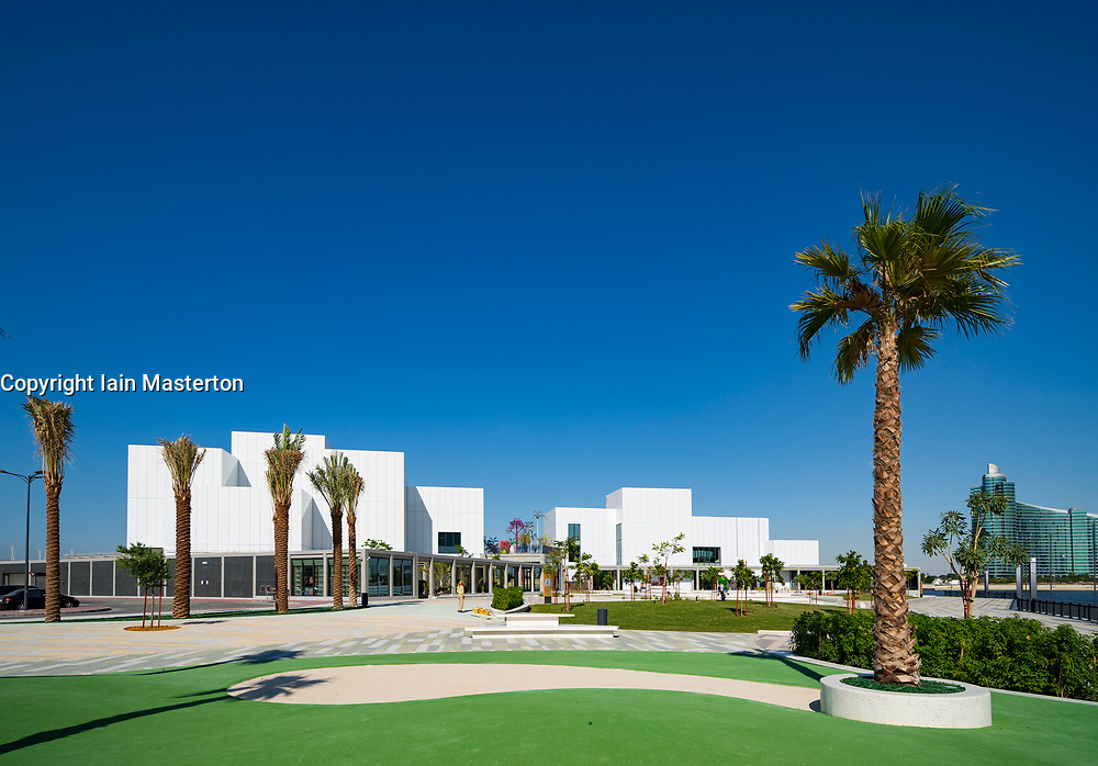 View of new Jameel Arts Centre in Dubai, UAE, united Arab Emirates