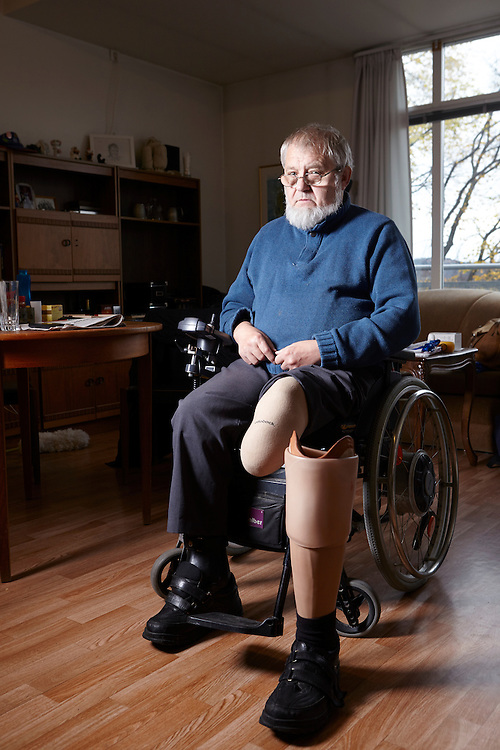 Oslo, 20141105<br /> Roger Holland, bydelsleder i Sagene handikapforbund, lider av diabetes.  <br /> Foto:&nbsp;Paul Paiewonsky / Dagbladet MAGASINET&nbsp;