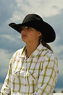 Barrel Racer, Montana High School Rodeo Finals, Bozeman, Montana
