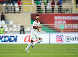 January 12, 2019 - Abu Dhabi, Abu Dhabi, United Arab Emirates - Ahmad Nourollahi of Iran    during Vietnam v Iran, AFC Asian Cup football, Nahyan Stadium, Abu Dhabi, United Arab Emirates on January 12, 2019  (Credit Image: © Ulrik Pedersen/NurPhoto via ZUMA Press)