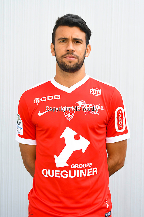 Luciano Castan Da Silva of Brest during the Photo shooting of Stade Brestois in Brest on september 22th 2016<br /> Photo : Philippe Le Brech / Icon Sport