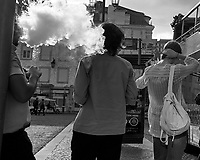 Street Photography. Afternoon Walkabout. Image taken with a Nikon 1 V3 camera and 10-30 mm lens.