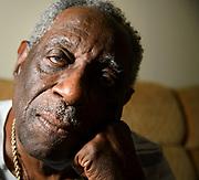Mid-town resident, Otis R. Dove Jr., 81, at his home, Tucson, Arizona, USA.