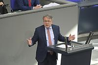 DEU, Deutschland, Germany, Berlin, 04.03.2020: Dr. Georg Nüßlein (CDU) bei einer Rede während einer Plenarsitzung im Deutschen Bundestag.
