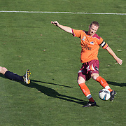 Craig Moore in action during the Central Coast Mariners V Brisbane Roar A-League match at Bluetongue Stadium, Gosford, Australia, 19 December 2009. Photo Tim Clayton