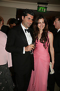 MR. AND MRS. MARWAN CHATILLA,  Grosvenor House Art & Antiques Fair charity gala evening in aid of Coram Foundation. Grosvenor House. Park Lane. London. 14 June 2007.  -DO NOT ARCHIVE-© Copyright Photograph by Dafydd Jones. 248 Clapham Rd. London SW9 0PZ. Tel 0207 820 0771. www.dafjones.com.