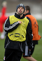 Photo: Paul Thomas.<br />Liverpool training session. UEFA Champions League. 05/03/2007.<br /><br />Javier Mascherano of Liverpool.