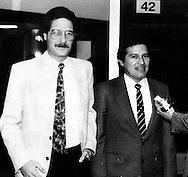 Fotos de Archivo de  Leonel Gonalez,del Frente Farabundo Marti (FMLN) durante los anos de la guerra civil lo a compana Salvador Samayoa. Photo: Imagenes Libres.