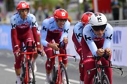 September 22, 2018 - Innsbruck, Autriche - MARTIN Tony (GER)  ofEquipe  Team Katusha Alpecin and TEAM KATUSHA ALPECIN in action (Credit Image: © Panoramic via ZUMA Press)