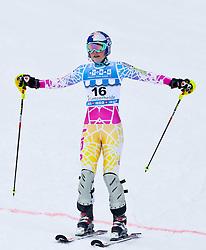 18.03.2011, Pista Silvano Beltrametti, Lenzerheide, SUI, FIS Ski Worldcup, Finale, Lenzerheide, Slalom Damen, im Bild Lindsey Vonn (USA) enttäuscht im Zielraum auf der Lenzerheide. //  Lindsey Vonn (USA)  during Women´s Slalom, at Pista Silvano Beltrametti, in Lenzerheide, Switzerland, 18/03/2011, EXPA Pictures © 2011, PhotoCredit: EXPA/ J. Feichter