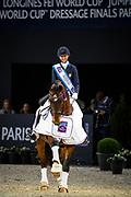 Laura Graves - Verdades<br /> FEI Longines FEI World Cup Paris 2018<br /> © DigiShots