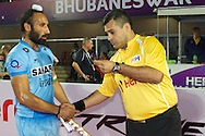 04 GER vs IND : Sardar Singh choose the toss