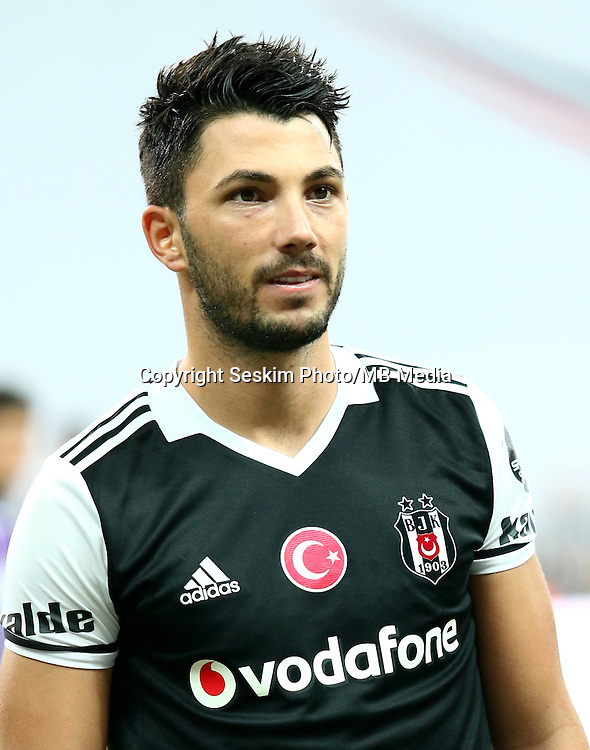Turkey superlig match between Besiktas and Alanyaspor at Vodafone Arena in Istanbul , Turkey on August 20 , 2016.<br /> Final Score : Besiktas 4 - Alanyaspor 1<br /> Pictured: Tolgay Arslan of Besiktas.
