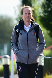 Olivia Chance of Bristol City arrives at SGS College Stoke Gifford Stadium prior to kick off - Mandatory by-line: Ryan Hiscott/JMP - 29/09/2019 - FOOTBALL - SGS College Stoke Gifford Stadium - Bristol, England - Bristol City Women v Chelsea Women - FA Women's Super League