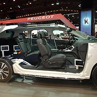 Peugeot Hybrid4 Diesel at the IAA 2013, Frankfurt, Germany