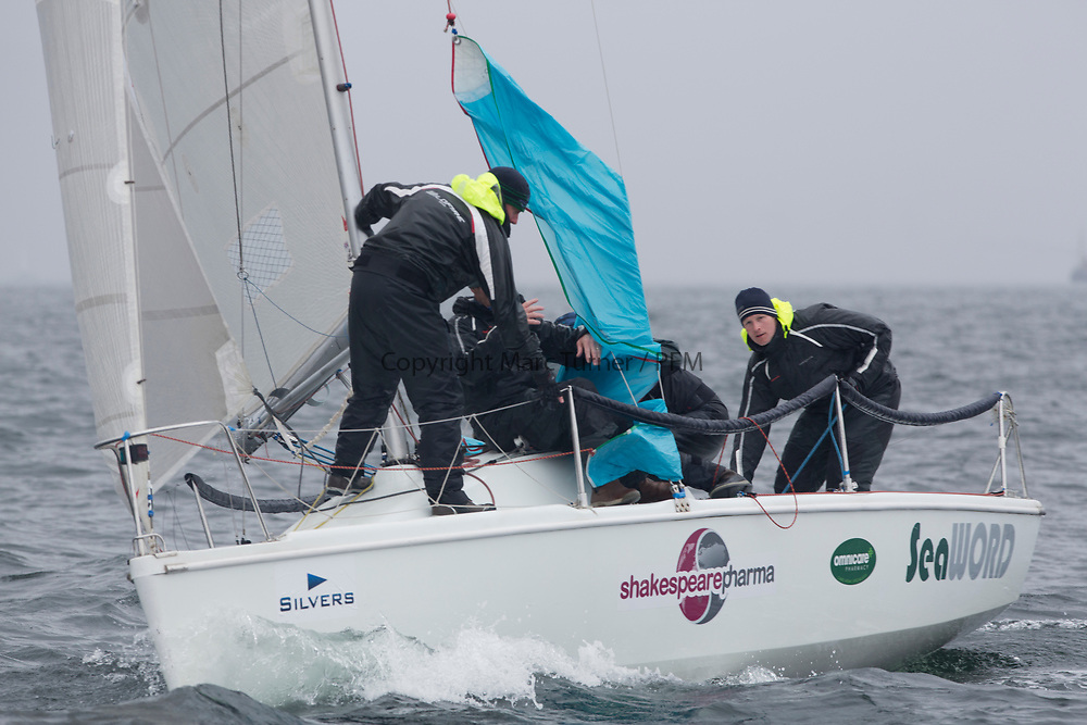 Silvers Marine Scottish Series 2017<br /> Tarbert Loch Fyne - Sailing<br /> <br /> GBR7060N, Seaword, Dara O'Malley, PEYC<br /> <br /> Credit: Marc Turner / CCC