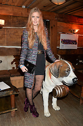 KATIE READMAN at Skiing With Heroes Junior Committee Awareness Party held at Bodo's Schloss, 2A Kensington High Street, London on 6th November 2014.