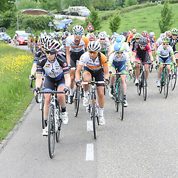 27-05-2016: Wielrennen: Boels Rental Classic: Valkenburg<br /> VALKENBURG (NED) wielrennen<br />Tatiana Guderzo, Anouska Koster, Moniek Tenniglo op de Camerig