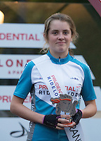 Elizabeth Catlow  Prudential RideLondon Grand Prix Youth Girls&rsquo; Race , during Prudential RideLondon,  2015 Saturday 1st August, 2015. <br /> <br /> Prudential RideLondon is the world&rsquo;s greatest festival of cycling, involving 95,000+ cyclists &ndash; from Olympic champions to a free family fun ride - riding in five events over closed roads in London and Surrey over the weekend of 1st and 2nd August 2015. <br /> <br /> Photo: Jon Buckle for Prudential RideLondon<br /> <br /> See www.PrudentialRideLondon.co.uk for more.<br /> <br /> For further information: Penny Dain 07799 170433<br /> pennyd@ridelondon.co.uk