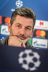 October 2, 2018 - Na - Athens, 10/01/2018 - The AEK of Athens has held a press conference previewing the match of the second day of the Champions League 2018/2019 against Sport Lisboa e Benfica. Marinos Ouzounidis  (Credit Image: © Atlantico Press via ZUMA Wire)