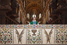 2014-08-01 St Paul's Restored WW1 Altar Frontal