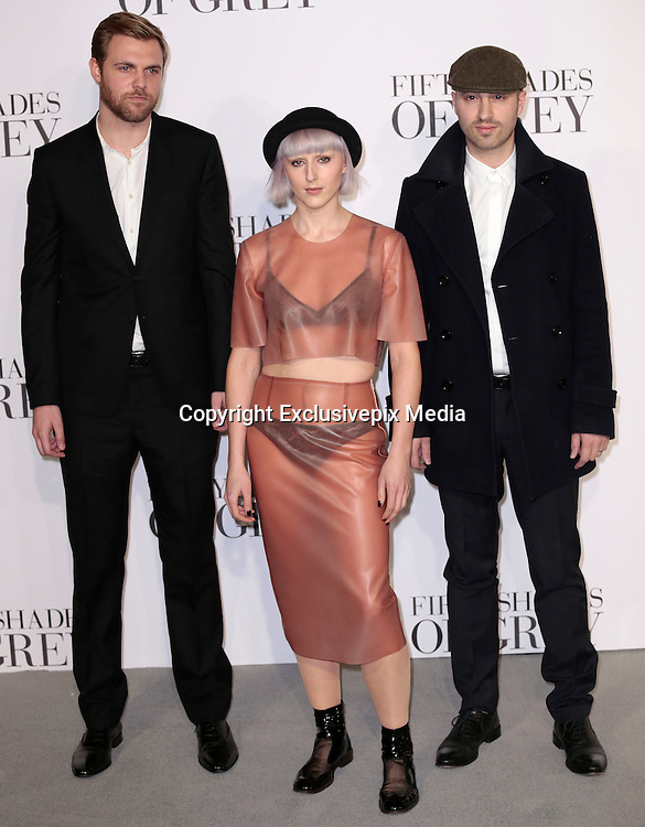 Feb 12, 2015 - 'Fifty Shades of Grey' UK Premiere - Red Carpet Arrivals at Odeon, Leicester Square<br /> <br /> Pictured: Vaults<br /> ©Exclusivepix Media