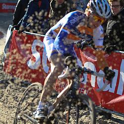 Nederlands Kampioenschap veldrijden Gasselte beloften Gertjan Bosman