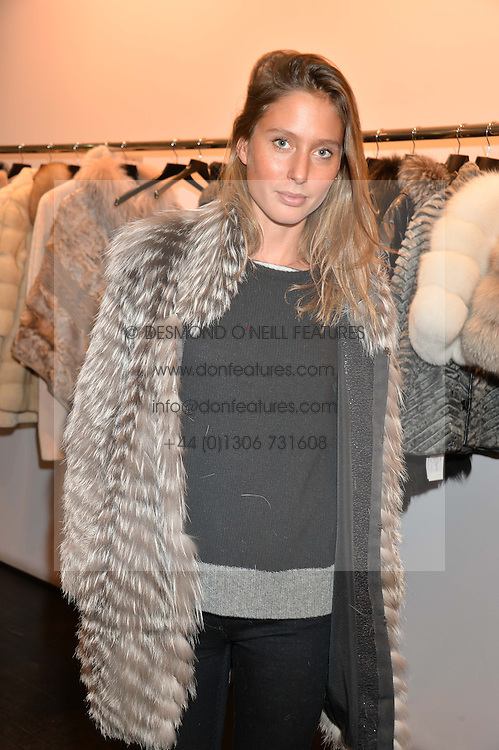 JEMIMA JONES at a preview of the Hockley Autumn -Winter 2013/2014 Collection at Hockley, 20 Conduit Street, London on 26th November 2013.