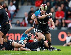 Byron Kelleher in action for Stade Toulousain.  Stade Toulousain v Toulon, 11eme Journee, Top 14, Stade Ernest Wallon, Toulouse, France, 30th October 2010.