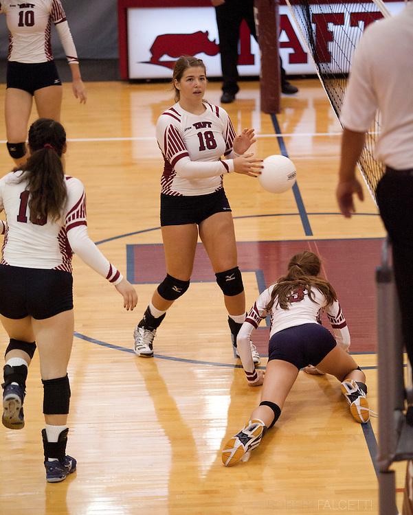 Taft School-October 4, 2014- Taft varsity volleyball vs Northfield Mount Hermon School. (Photo by Robert Falcetti)