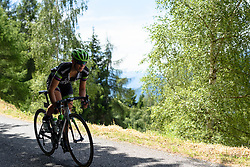 Julia Soek (Liv Plantur) descends at Giro Rosa 2016 - Stage 5. A 77.5 km road race from Grosio to Tirano, Italy on July 6th 2016.