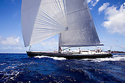 Virago Sailing in the 2011 St. Barths Bucket. Race 2.