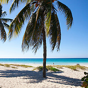 Tourists from around world enjoy the fine white sand beaches of Varadero.<br /> Photography by Jose More