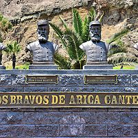 Battle of Arica War Heroes Monument in Arica, Chile <br />